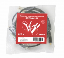 Комплект сварочных кабелей Optima-250