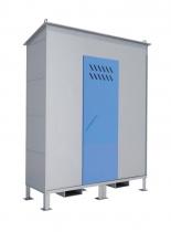 Шкаф хранилище для баллонов ШХБ 12-01