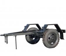 Шасси с колесами УАЗ подвеска рессорная