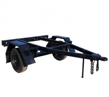Шасси с колесами ГАЗ подвеска рессорная