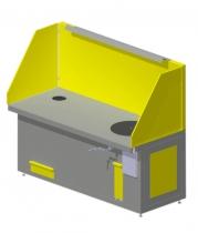 Стол сварщика с поворотной плитой ССУ-1-05