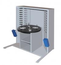 Стол сварщика с поворотной плитой ССУ-4-01